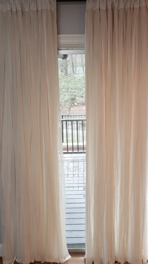 Couture Dreams Whisper Ivory Window Curtain 2